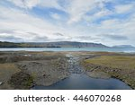 whale fjord  iceland   Shutterstock . vector #446070268