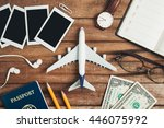 preparation for traveling...   Shutterstock . vector #446075992