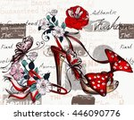 Fashion Vector Background With...