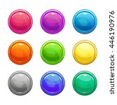 colorful glossy round buttons...