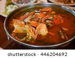 Crab With Hot And Sour Soup In...