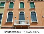 venetian style balcony   Shutterstock . vector #446234572