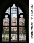 Medieval Stained Glass From...