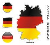 fully editable vector flag of... | Shutterstock .eps vector #44633770