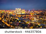 london  night  city lights... | Shutterstock . vector #446357806