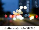 abstract bokeh city light for... | Shutterstock . vector #446389942
