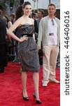 anne hathaway at the world...   Shutterstock . vector #446406016