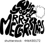 hand drawn sketch inspiration.... | Shutterstock .eps vector #446430172