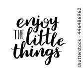 vector motivational quote... | Shutterstock .eps vector #446486962