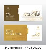 gift voucher template for spa ... | Shutterstock .eps vector #446514202