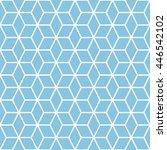 cubes seamless pattern... | Shutterstock .eps vector #446542102