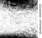 black grange scratched... | Shutterstock .eps vector #446565232