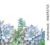 Watercolor Succulents...
