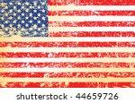grunge us flag | Shutterstock .eps vector #44659726