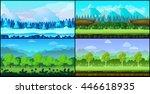 game background vector seamless ...   Shutterstock .eps vector #446618935