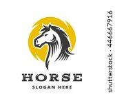 original logo template in... | Shutterstock .eps vector #446667916
