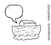 Freehand Drawn Speech Bubble...