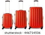 Set Of Three Orange Plastic...