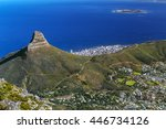 republic of south africa. cape... | Shutterstock . vector #446734126