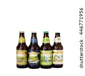 Small photo of HOUSTON, TEXAS-JUL 3,2016:Sierra Nevada beer in Summer Pack 2016 Seasonal Sampler isolated on white background. Sierra Nevada Brewing Co.Its was established in 1980 by homebrewers in Chico, California