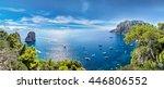 capri island in a beautiful... | Shutterstock . vector #446806552