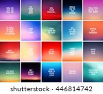 Set Of 20 Blurred Backgrounds....