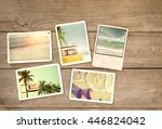 photo album remembrance and... | Shutterstock . vector #446824042