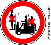 warning sign | Shutterstock . vector #44684254