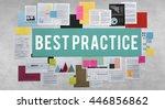 best practice agreement...   Shutterstock . vector #446856862