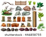 Gardening Set Of Rocks And...