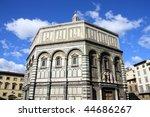 baptistery of florence...   Shutterstock . vector #44686267