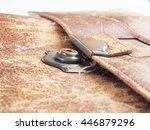 old clutch bag    Shutterstock . vector #446879296