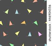 seamless flag pattern.   cute... | Shutterstock .eps vector #446904556