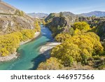 The Kawarau River Flows From...