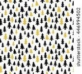 vector seamless pattern of... | Shutterstock .eps vector #446994502