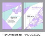 modern vector templates for... | Shutterstock .eps vector #447022102