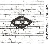 grunge vector background... | Shutterstock .eps vector #447036826