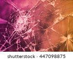 broken glass  | Shutterstock . vector #447098875