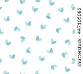 vector seamless pattern of... | Shutterstock .eps vector #447105082