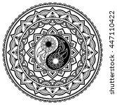 circular pattern in form of...   Shutterstock .eps vector #447110422