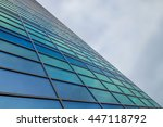 abstract modern building | Shutterstock . vector #447118792