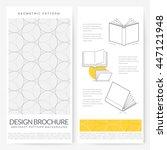 business brochure flyer design... | Shutterstock .eps vector #447121948