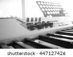 the piano is the key to the...   Shutterstock . vector #447127426