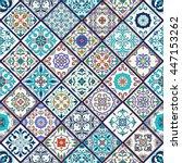 vector seamless texture.... | Shutterstock .eps vector #447153262