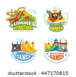 vector illustration of color... | Shutterstock .eps vector #447170815