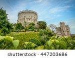Windsor Castle With A Blue Sky...