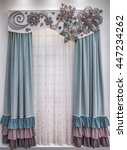 Soft Velor Curtains With...
