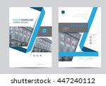 corporate brochure flyer design ...   Shutterstock .eps vector #447240112