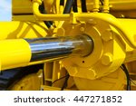 hydraulic piston system for... | Shutterstock . vector #447271852