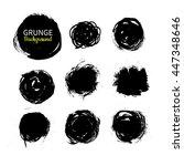 Grunge Ink Vector Circle...